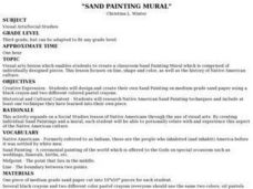 Sand Painting Mural Lesson Plan