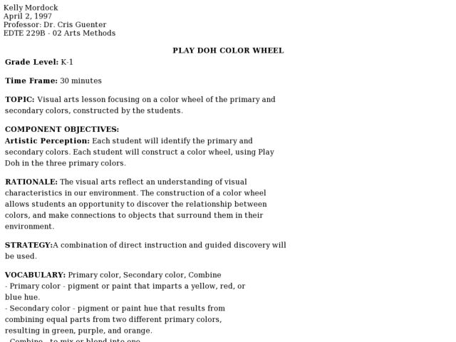 primary and secondary colors lesson plans worksheets lesson planet