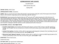 EXPRESSIONIST ART LESSON Lesson Plan