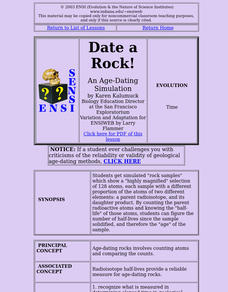 Date a Rock! Lesson Plan