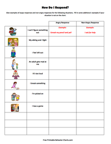 How Do I Respond? Printables & Template