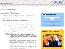 Australian Aborigines Lesson Plan