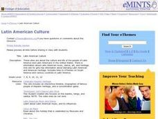 Latin American Culture Lesson Plan