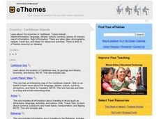 Country:  Caribbean Islands Lesson Plan