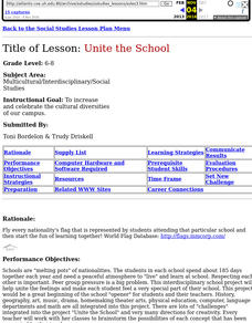 Unite The School Lesson Plan