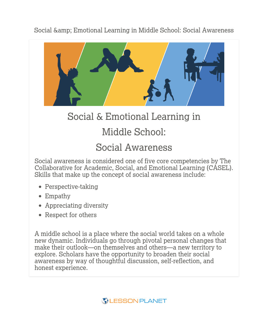 Social & Emotional Learning in Middle School: Social Awareness