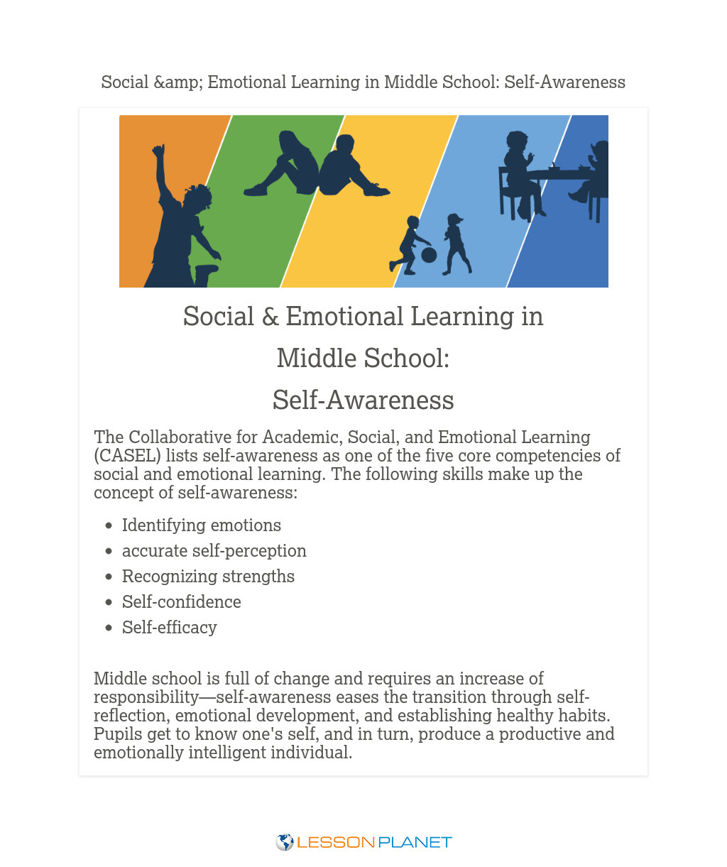 Social & Emotional Learning in Middle School: Self-Awareness