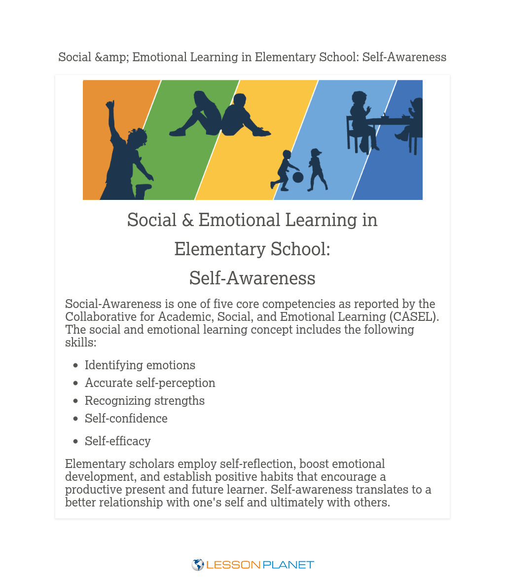 Social & Emotional Learning in Elementary School: Self-Awareness