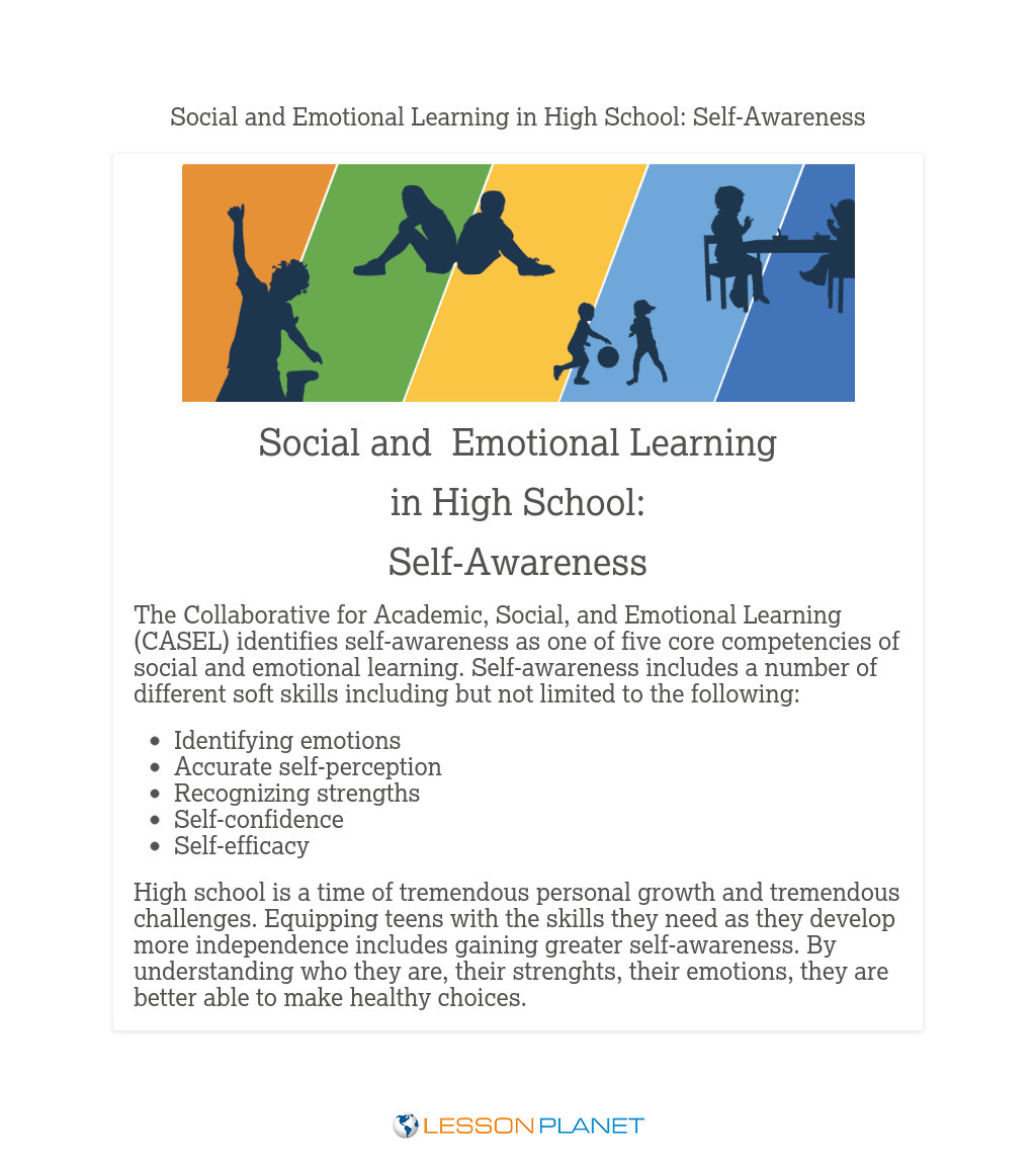 Social & Emotional Learning in High School: Self-Awareness
